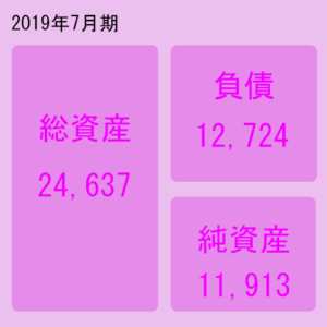 日本駐車場開発(2353)貸借対照表